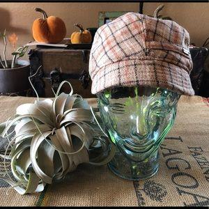 Pistil Plaid Newsboy Hat